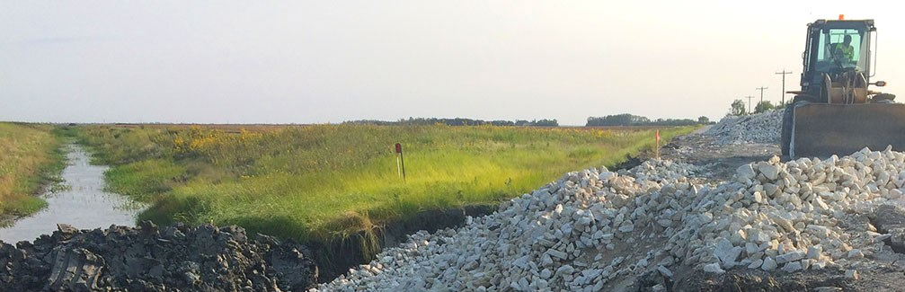 FLOOD PROTECTION RIVERBANK SHORELINE RESTORATION